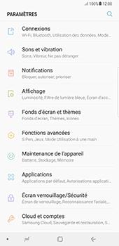 Samsung Galaxy Note 8 - Internet et connexion - Utiliser le mode modem par USB - Étape 4