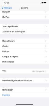 Apple iPhone XR - iOS 13 - Appareil - Restauration d