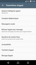 Sony Xperia XZ - Messagerie vocale - configuration manuelle - Étape 6