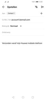 Huawei P30 Lite - E-mail - e-mail versturen - Stap 7