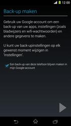 Sony Xperia Z1 4G (C6903) - Applicaties - Account aanmaken - Stap 22