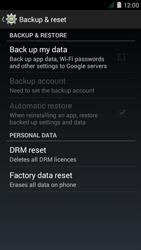 Acer Liquid Z410 - Device maintenance - How to do a factory reset - Step 6