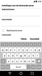 LG K10 (2017) (LG-M250n) - E-mail - Handmatig instellen - Stap 12