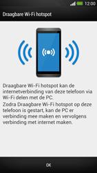 HTC One - WiFi - Mobiele hotspot instellen - Stap 7