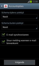 Samsung Galaxy Core (I8260) - E-mail - Account instellen (IMAP met SMTP-verificatie) - Stap 18