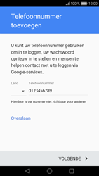 Huawei Huawei P9 Lite (Model VNS-L11) - Applicaties - Account aanmaken - Stap 13