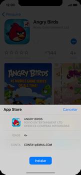 Apple iPhone X - Aplicações - Como pesquisar e instalar aplicações -  13