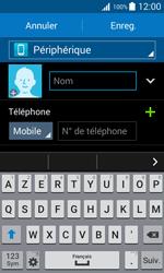 Samsung Galaxy Trend 2 Lite - Contact, Appels, SMS/MMS - Ajouter un contact - Étape 7