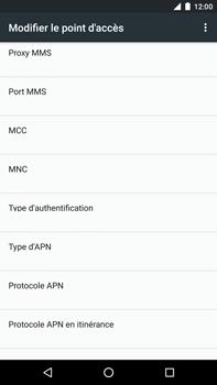 Huawei Nexus 6P - MMS - configuration manuelle - Étape 11