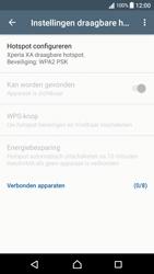 Sony Xperia XA - Android Nougat - WiFi - Mobiele hotspot instellen - Stap 10