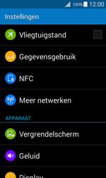 Samsung G357 Galaxy Ace 4 - Internet - Mobiele data uitschakelen - Stap 4