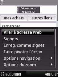 Nokia 6120 classic - Internet - Navigation sur Internet - Étape 5