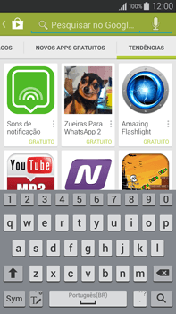 Samsung N910F Galaxy Note 4 - Aplicativos - Como baixar aplicativos - Etapa 14