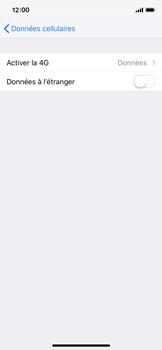 Apple iPhone X - iOS 12 - Réseau - Changer mode réseau - Étape 5