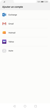 Huawei Mate 20 Pro - E-mail - 032c. Email wizard - Outlook - Étape 4