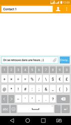 LG LG K8 - Contact, Appels, SMS/MMS - Envoyer un SMS - Étape 8