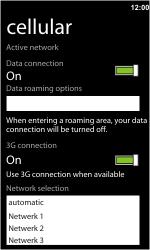 HTC 7 Trophy - Netwerk - gebruik in het buitenland - Stap 10