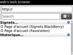 BlackBerry 9700 Bold - Internet - Navigation sur Internet - Étape 4