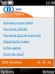 Nokia 6303 classic - Internet - navigation sur Internet - Étape 16