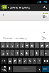 Bouygues Telecom Bs 351 - Contact, Appels, SMS/MMS - Envoyer un SMS - Étape 5