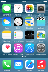 Apple iPhone 4s iOS 8 - MMS - Afbeeldingen verzenden - Stap 1