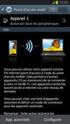 Samsung Galaxy Note 2 - Internet et connexion - Partager votre connexion en Wi-Fi - Étape 7