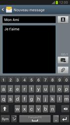 Samsung Galaxy Note 2 - Contact, Appels, SMS/MMS - Envoyer un SMS - Étape 10