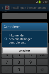 Samsung Galaxy Fame Lite (S6790) - E-mail - Account instellen (POP3 zonder SMTP-verificatie) - Stap 12