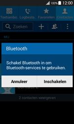 Samsung G357 Galaxy Ace 4 - Contactgegevens overzetten - delen via Bluetooth - Stap 10