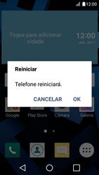 LG K4 - Internet no telemóvel - Configurar ligação à internet -  33