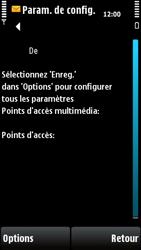 Nokia X6-00 - MMS - configuration automatique - Étape 8