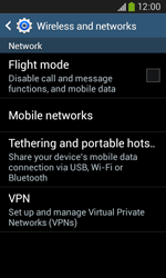 Samsung Galaxy Core Plus - Internet - Enable or disable - Step 5