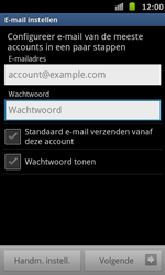 Samsung I9070 Galaxy S Advance - E-mail - e-mail instellen: POP3 - Stap 5
