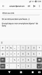 Sony Xperia XZ - Android Oreo - E-mail - envoyer un e-mail - Étape 9