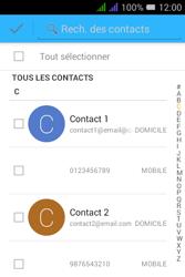 Alcatel Pixi 3 Dual Sim - Contact, Appels, SMS/MMS - Envoyer un SMS - Étape 6