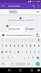 Crosscall Action X3 - Contact, Appels, SMS/MMS - Envoyer un MMS - Étape 10