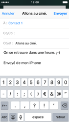 Apple iPhone 5 iOS 10 - E-mail - Envoi d