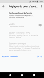 Sony Xperia XZ1 - Internet et connexion - Partager votre connexion en Wi-Fi - Étape 7