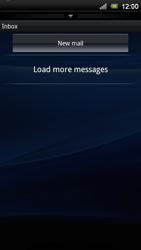 Sony Xperia Neo V - E-mail - Manual configuration - Step 4