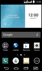 LG D295 G2 Lite - Rede móvel - Como ativar e desativar uma rede de dados - Etapa 1
