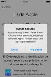 Apple iPhone 4S iOS 7 - Primeros pasos - Activar el equipo - Paso 11