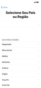 Apple iPhone XR - Primeiros passos - Como ligar o telemóvel pela primeira vez -  6