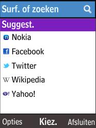 Nokia 220 - Internet - Hoe te internetten - Stap 3