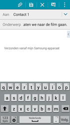 Samsung I9195i Galaxy S4 mini VE - E-mail - Hoe te versturen - Stap 9