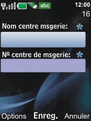 Nokia 6600i slide - SMS - Configuration manuelle - Étape 8