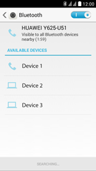 Huawei Ascend Y625 - Bluetooth - Pair with another device - Step 5