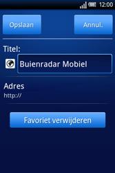 Sony Ericsson Xperia X8 - Internet - hoe te internetten - Stap 12