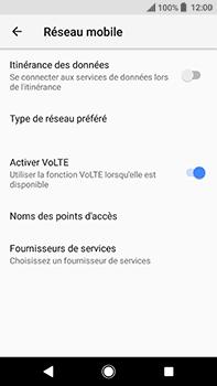 Sony Xperia XA2 Ultra - Aller plus loin - Désactiver les données à l'étranger - Étape 7