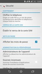 Sony Xperia E4g - Sécuriser votre mobile - Personnaliser le code PIN de votre carte SIM - Étape 5