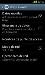 Samsung S7560 Galaxy Trend - Red - Seleccionar el tipo de red - Paso 9